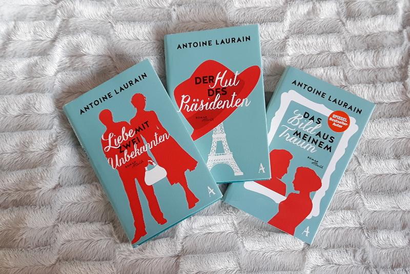 Antoine Laurain - 3 Bücher und viel Begeisterung