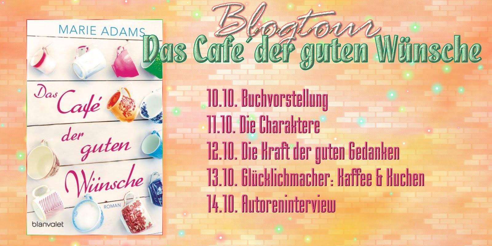 """Kurz und knackig: Die Gewinner der Blogtour """"Das Café der guten Wünsche"""""""