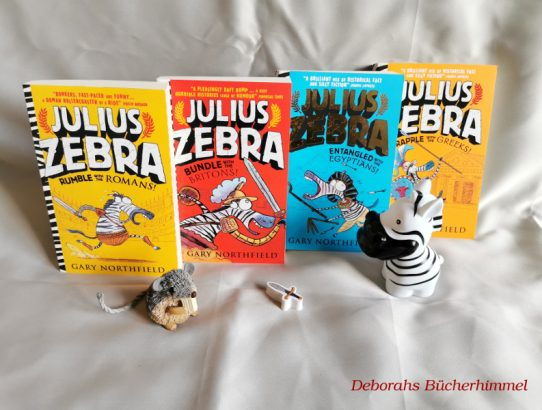 Gary Northfield - Julius Zebra - Rumble with the Romans (English Review)