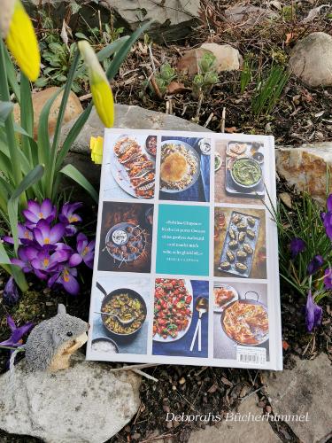 Die Rückseite des Kochbuchs.