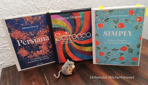 Persiana, Scirocco und Simply zusammen mit der Blogmaus.