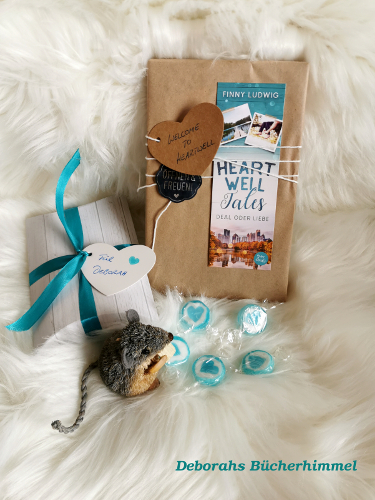 Heartwell Tales verpackt zusammen mit der Blogmaus