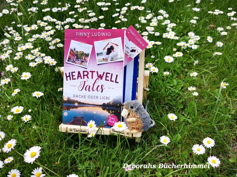 Finny Ludwig Heartwell Tales 2 mit Blogmaus in Gänseblümchenwiese
