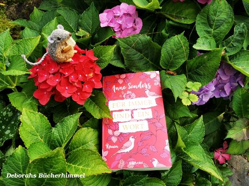 """""""Für immer und ein Wort"""" mit Blogmaus im Garten"""