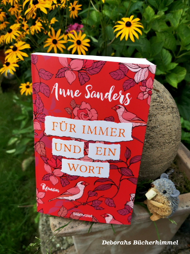 Anne Sanders' neues Buch mit Blogmaus und Blumen