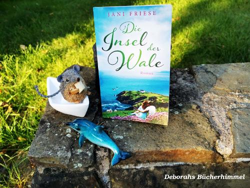 """Jani Friese """"Die Insel der Wale"""" mit Deko-Delfin, Blogmaus und Boot"""